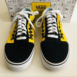 Vans Shoes - VANS Old Skool Peanuts Charlie Brown Size 8
